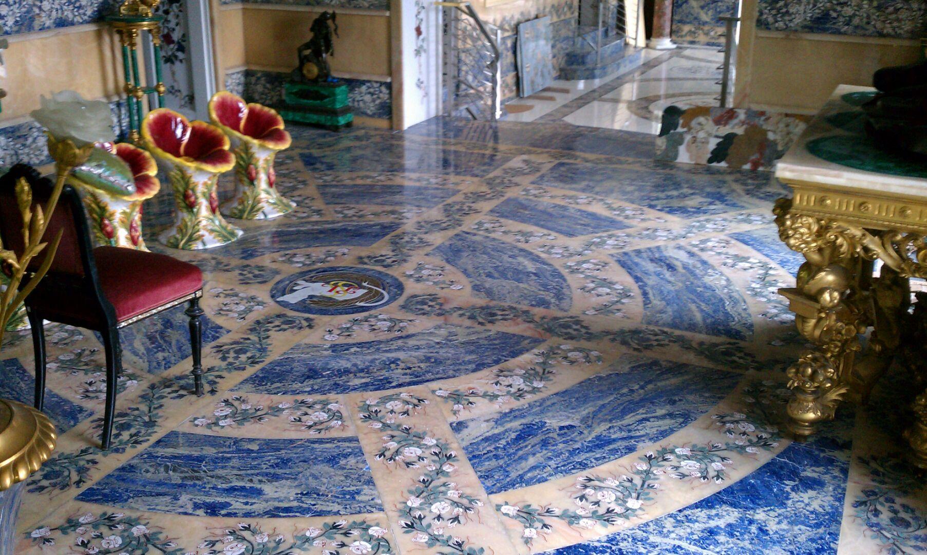 marble floor - billionare