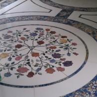 Custom Flooring Flowers