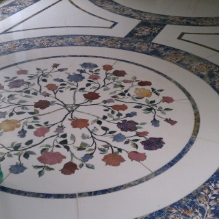 Custom Flooring Flowers